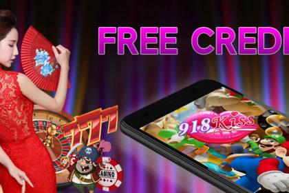 918kiss free credit